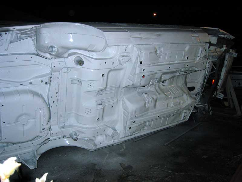 Cosworth vs vanlig sierra kaross Underside_painted