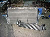 Saab 900 Radiator and Cossie intercooler