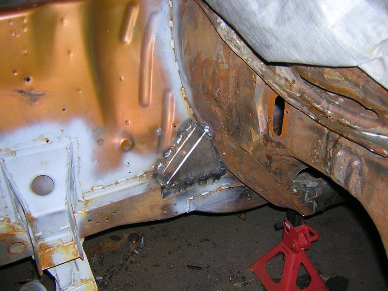 Chassis strengthening tips - The Ford Capri Laser Page